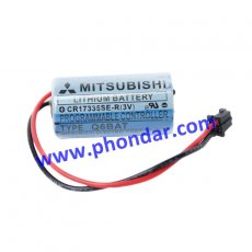 三菱Mitsubishi鋰電池/PLC專用電池CR17335SE-R Q6BAT 1800mah 3V(PLC/CNC專用)