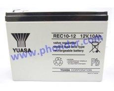 湯淺鉛酸蓄電池REC10-12 12V 10Ah