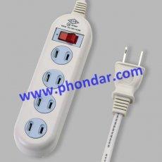 1燈4插延長線9503B(台灣製造)