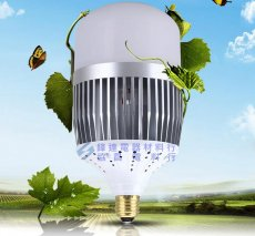 LED100W燈泡220V(白光)-E40(取代500W水銀燈泡)