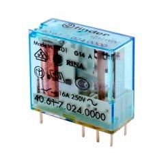 FINDER繼電器40.61 16A (SPDT 1P)