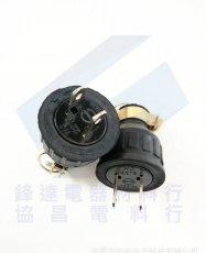 電纜線橡膠插頭WJ2215  2P15A 125V