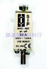 義大利SIF低壓保險絲/電力熔絲NVO-00C gL-gG 500V 120KA
