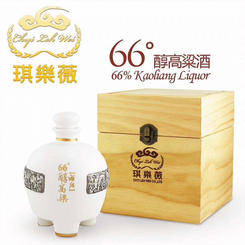 琪樂薇66度中式白酒系列 琪樂薇66度醇高粱酒 白鼎 ChyiLehWei 66% Kaoliang Liquor Chinese Baijiu