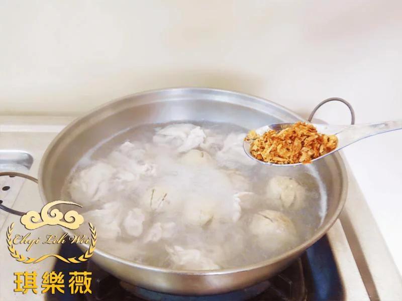高梁酒香什錦鹹湯圓【酒后53度高粱酒】-06