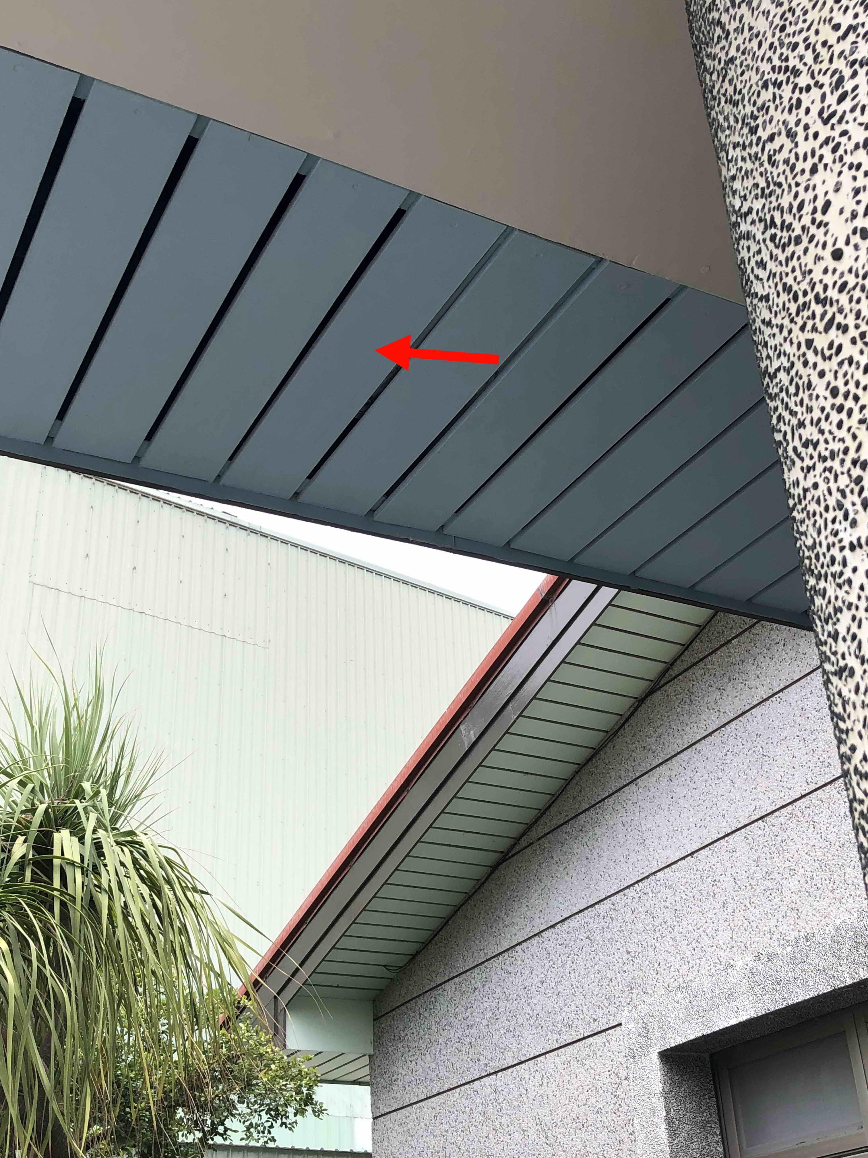 屋簷導流板