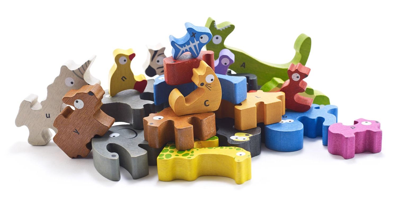 《预购》纯木质拼图-动物嘉年华系列